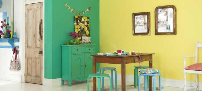 Покраска стен в квартире: цвета комфорта и уюта (30 фото)
