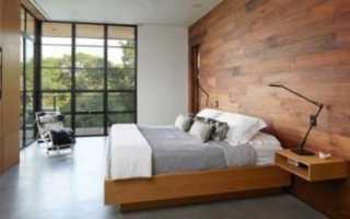 Обои для стен под дерево: разновидности и особенности использования в интерьере
