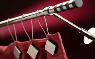 Как крепить шторы к карнизу правильно и как выбрать способ крепления?