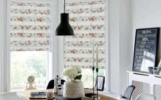 Римские шторы: крепление на окно и поверхность потолка