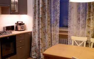 Шьем шторы на кухню: практические советы хозяйкам
