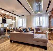 Двухуровневые потолки из гипсокартона с подсветкой (фото)