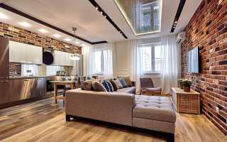 Двухуровневые потолки для гостиной из гипсокартона, фото — Все о гипсокартоне