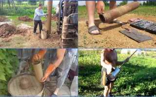 Желонка для чистки скважины своими руками — Всё о сантехнике
