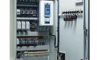 Какие функции выполняет щит управления вентиляцией, элементы управления системой