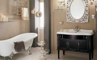 Шкафчик в ванную комнату: фото образцов