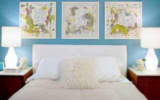 Как подобрать голубой цвет в интерьере дома (38 фото)