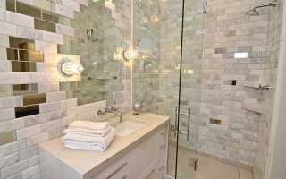 Чем отделать ванную комнату, кроме плитки?