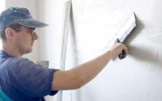 Выравнивание стен с помощью штукатурки шпатлевки своими руками