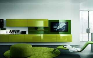 салатовый цвет в интерьере современной квартиры (42 фото)