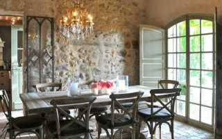 Кухня в стиле прованс – шарм и элегантность франции
