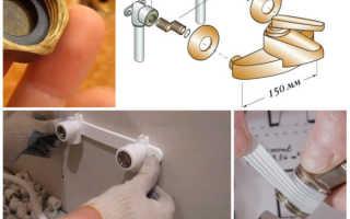 Установка смесителя в ванной: инструкции по монтажу
