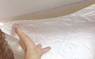 Как клеить флизелиновые обои на потолок правильно и легко