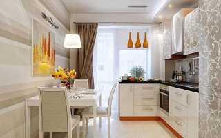 Правильно оформленный дизайн кухни 15 кв м: потолок, стены, пол