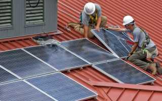 Во сколько обойдется установка солнечных батарей?