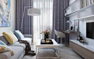 Дизайн гостиной в хрущевке: оформление, зонирование (45 фото)