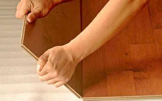 Как выполнять монтаж ламината