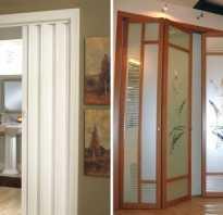 Складные межкомнатные двери: гармошка или книжка?