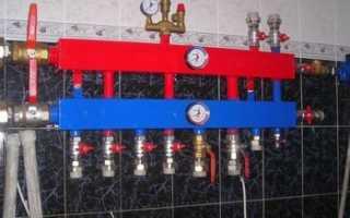 Коллектор отопления своими руками — Отопление