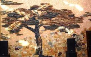 Декоративная отделка стен своими руками: способы
